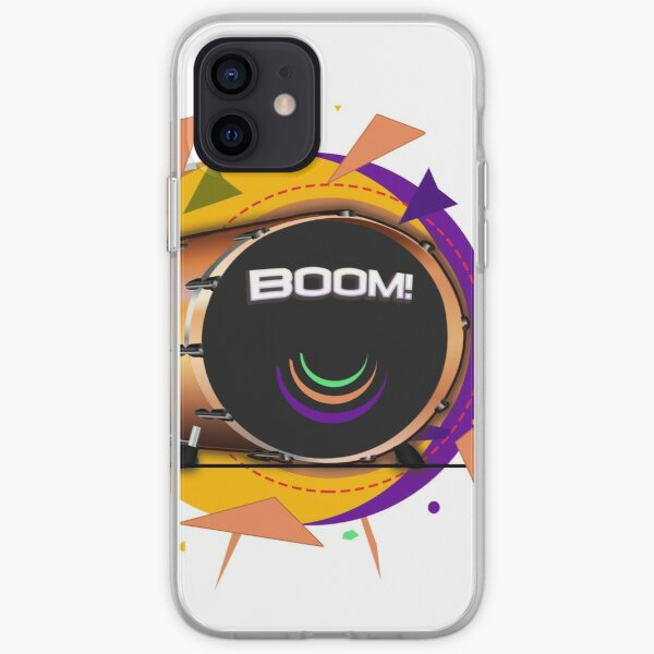 Kick Drum BOOM! iPhone Soft Case