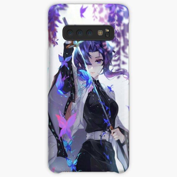 Shinobu Kocho - Demon Slayer Kimetsu no Yaiba Insect Pillar Shinobu Kocho . Samsung Galaxy Snap Case