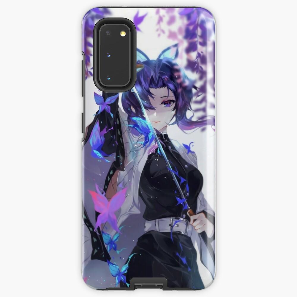 Shinobu Kocho - Demon Slayer Kimetsu no Yaiba Insect Pillar Shinobu Kocho . Case & Skin for Samsung Galaxy