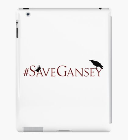 #SaveGansey iPad Case/Skin
