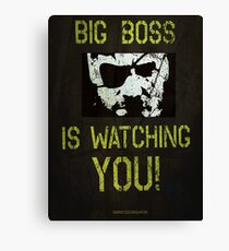 B. B. is watching you! Canvas Print