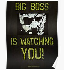 B. B. is watching you! Poster