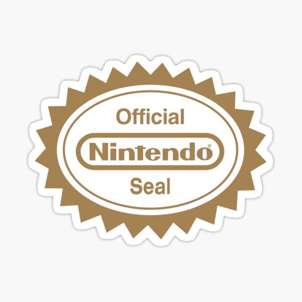 official nintendo seal Sticker