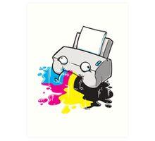 Puker Printer Art Print