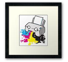 Puker Printer Framed Print