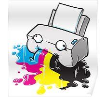 Puker Printer Poster