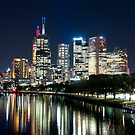 Melbourne Night Lights by Patrick Robertson