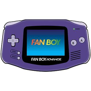 Fan Boy Advance GBA Retro Console by KITTYHAWK