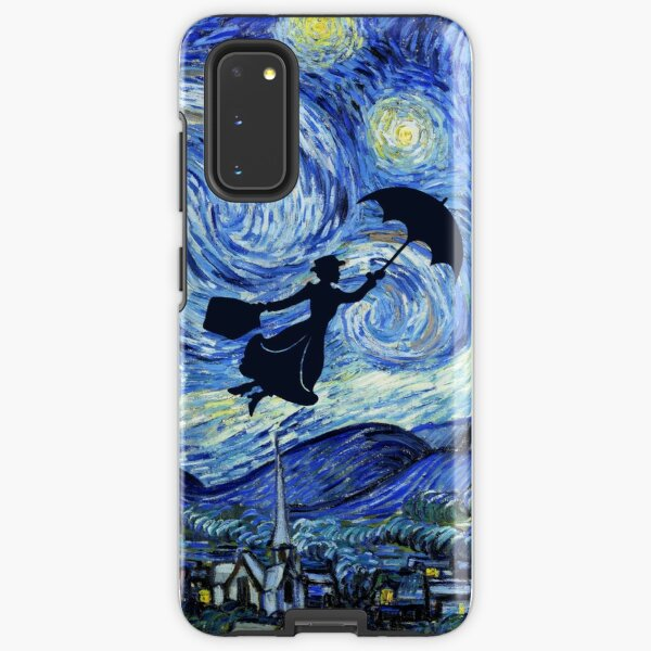 Mary Poppins Starry Night Samsung Galaxy Tough Case
