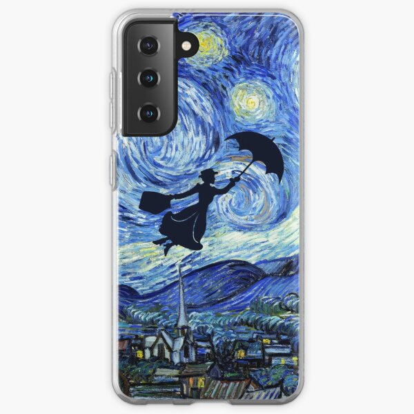 Mary Poppins Starry Night Samsung Galaxy Soft Case
