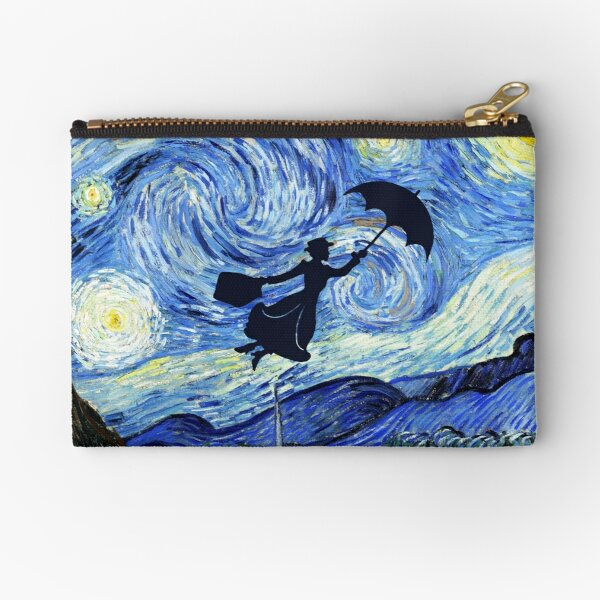 Mary Poppins Starry Night Zipper Pouch