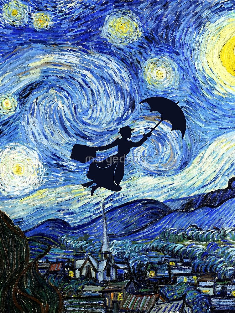 Mary Poppins Starry Night by maryedenoa