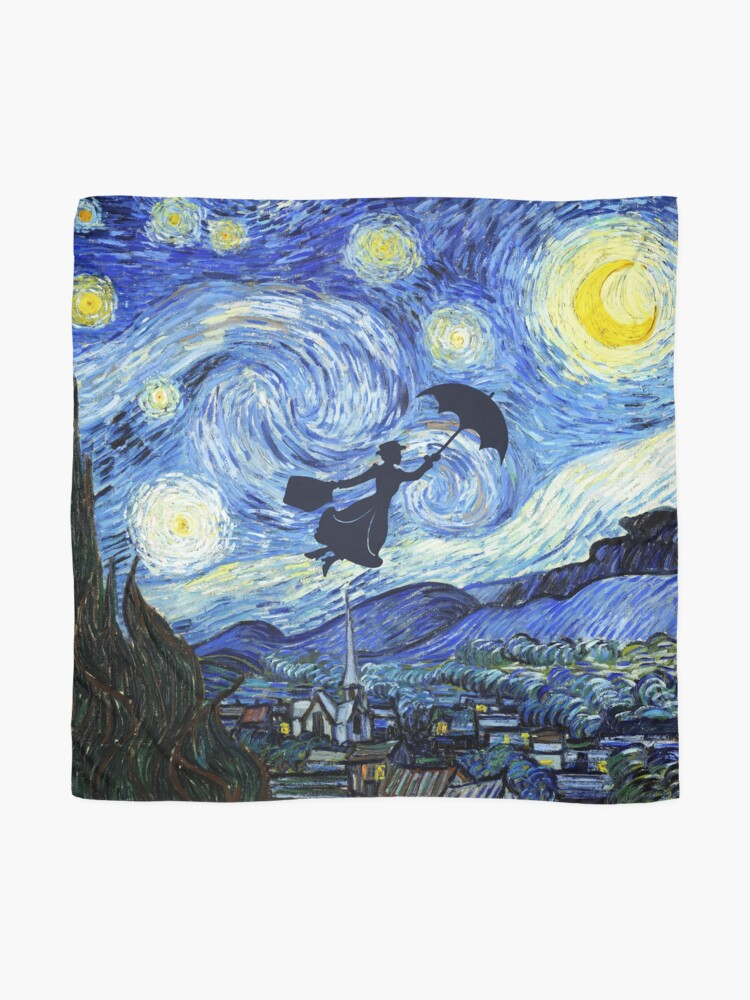 Alternate view of Mary Poppins Starry Night Scarf