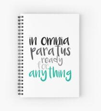 Cuaderno de espiral En Omnia Paratus