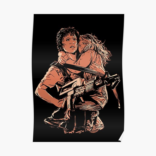 Ripley from Aliens Poster