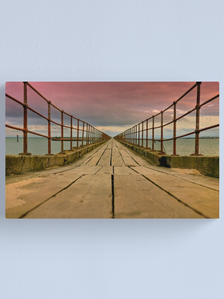 Alternate view of planks Canvas Print