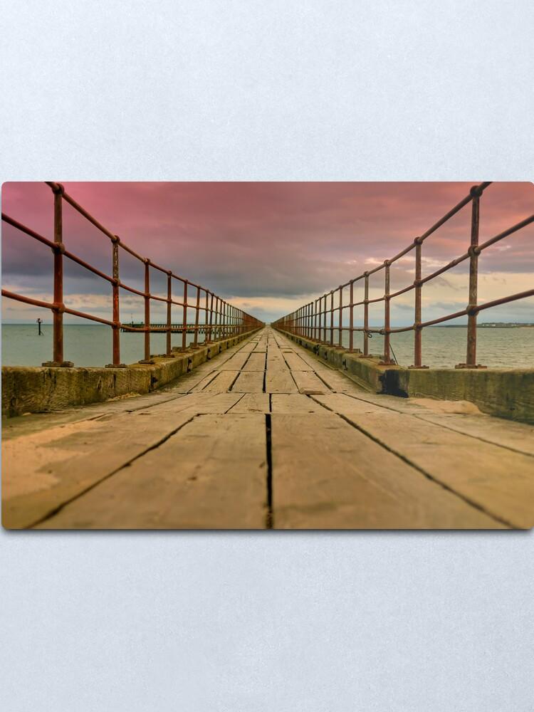 Alternate view of planks Metal Print