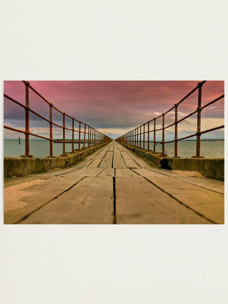 Alternate view of planks Photographic Print