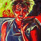 Punkarella abstract by Ken Eccles