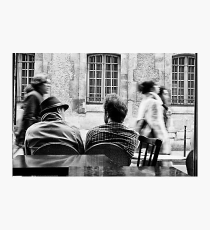 Parisian Coffee Photographic Print
