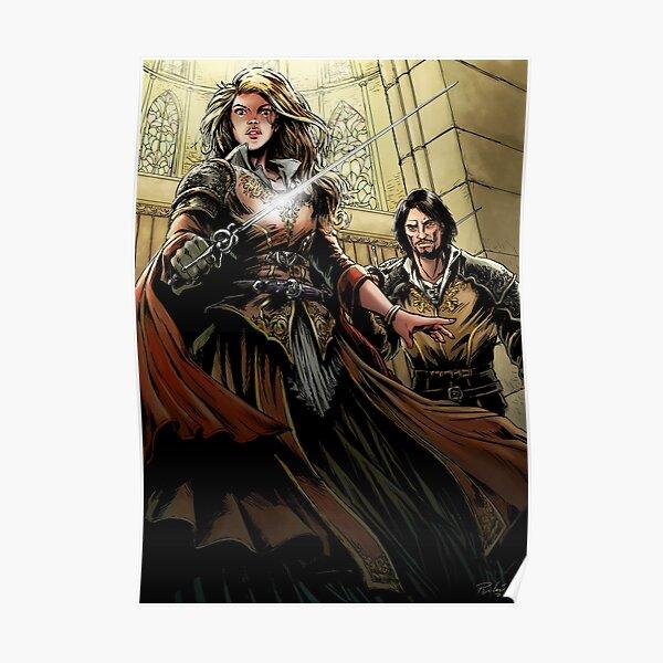 Princess-warrior Poster