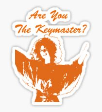 Are You The Keymaster?? Sticker