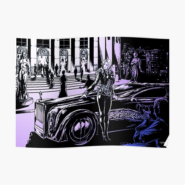 Limousine color Poster