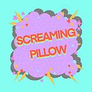 Screaming Pillow by itsaduckblur