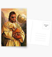 Venom Jesus Snake - parody Postcards