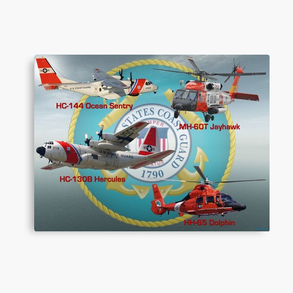 Eyes of the United States Coast Guard Canvas Print