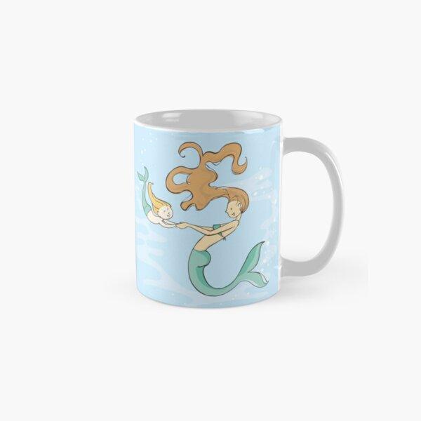 Mermaid and Daughter Classic Mug