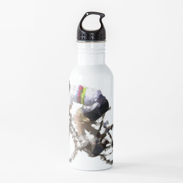 Abstract Cyclist (Peter Sagan) Water Bottle