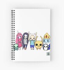 Mini Time! Spiral Notebook