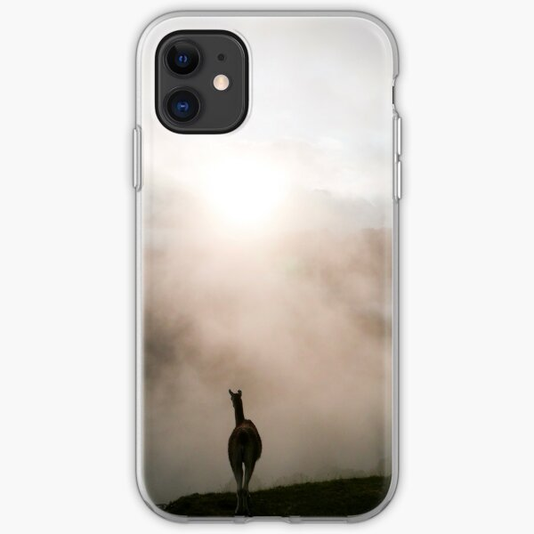 Lama du Machu Picchu Coque souple iPhone