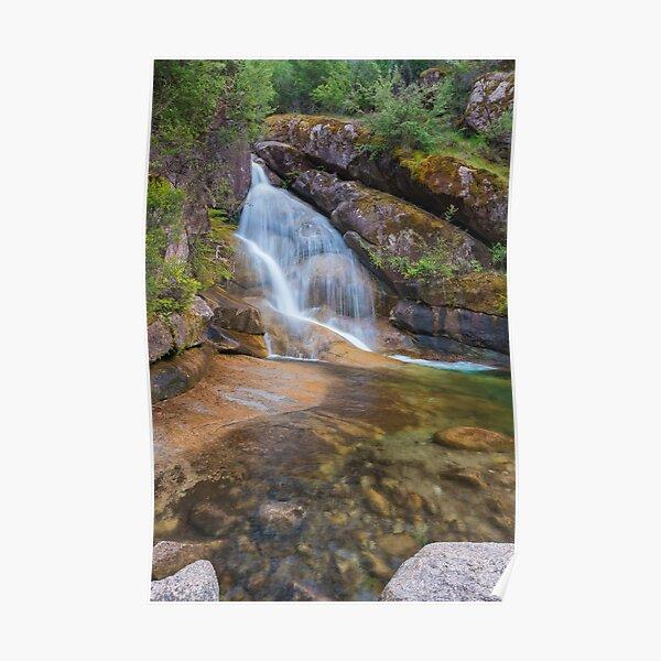 Ladies Bath Falls Eurobin Creek Poster