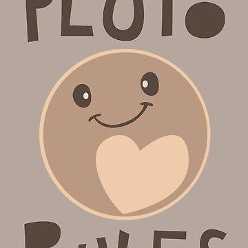 Entschuldigung, während ich Wissenschaft - Pluto Regeln! von AlexNoir