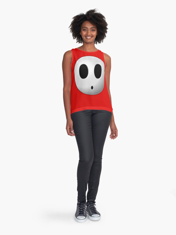 Alternate view of Shyguy Face Mask Sleeveless Top