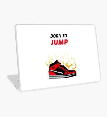 Born to Jump, basketball tee Laptop Skin