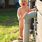 Water is so much fun! by Ruth Tinley