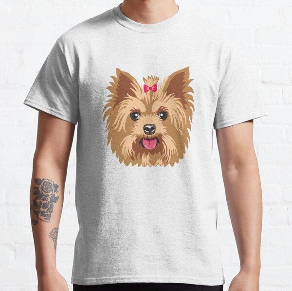 Yorkshire Terrier Retro Yorkie Dog Vintage Silhouette Kids T-Shirt