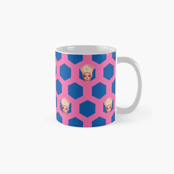 rupaul patterned background Classic Mug