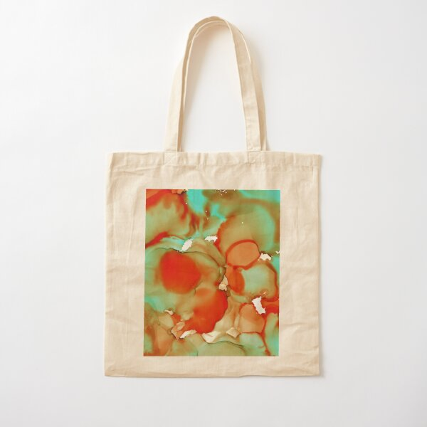 The edges of autumn Cotton Tote Bag