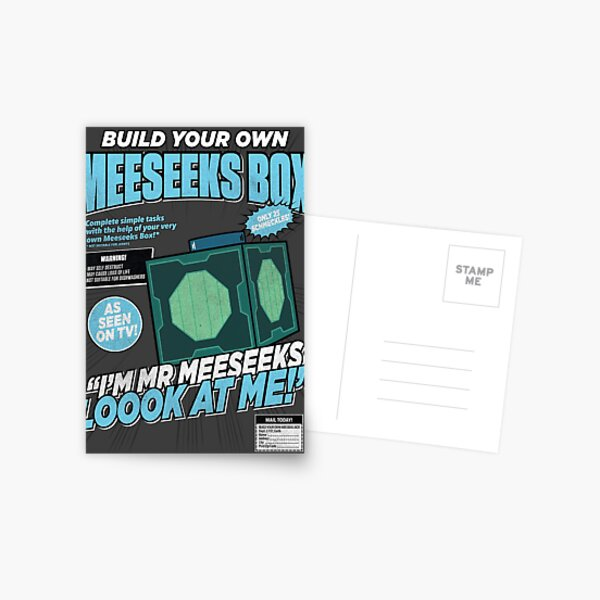 Build Your Own Meeseeks Box Postcard