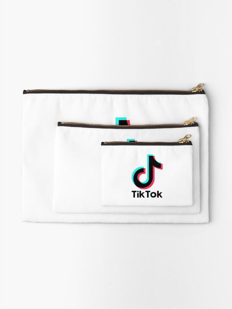 Alternate view of TikTok TikTok TikTok TikTok TikTok Zipper Pouch