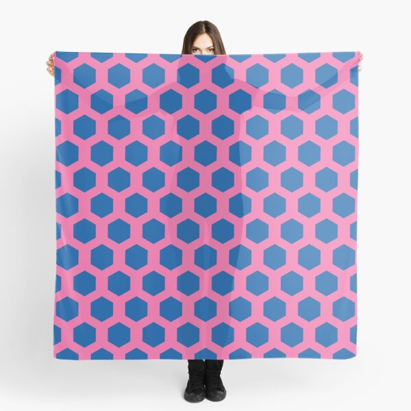 rupaul simple patterned background Scarf