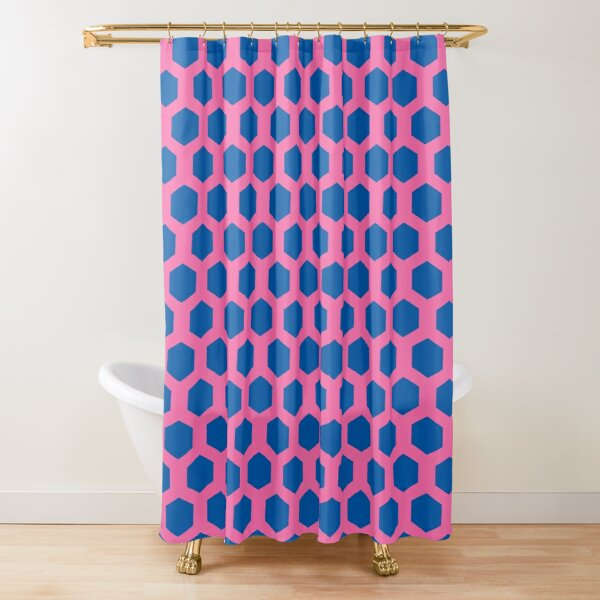 rupaul simple patterned background Shower Curtain