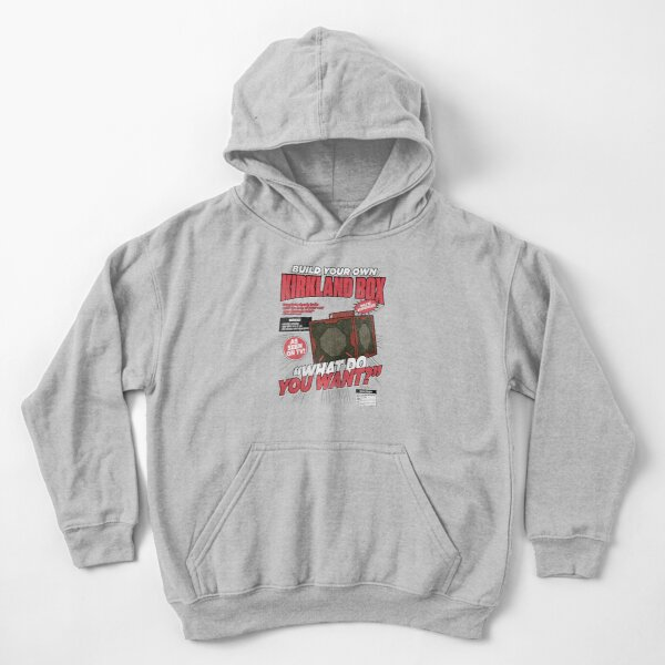 Build Your Own Kirkland Box Kids Pullover Hoodie