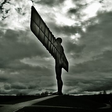 Angel of the North, England by ywill