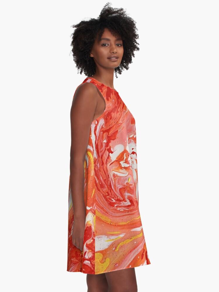Alternate view of Swirl A-Line Dress