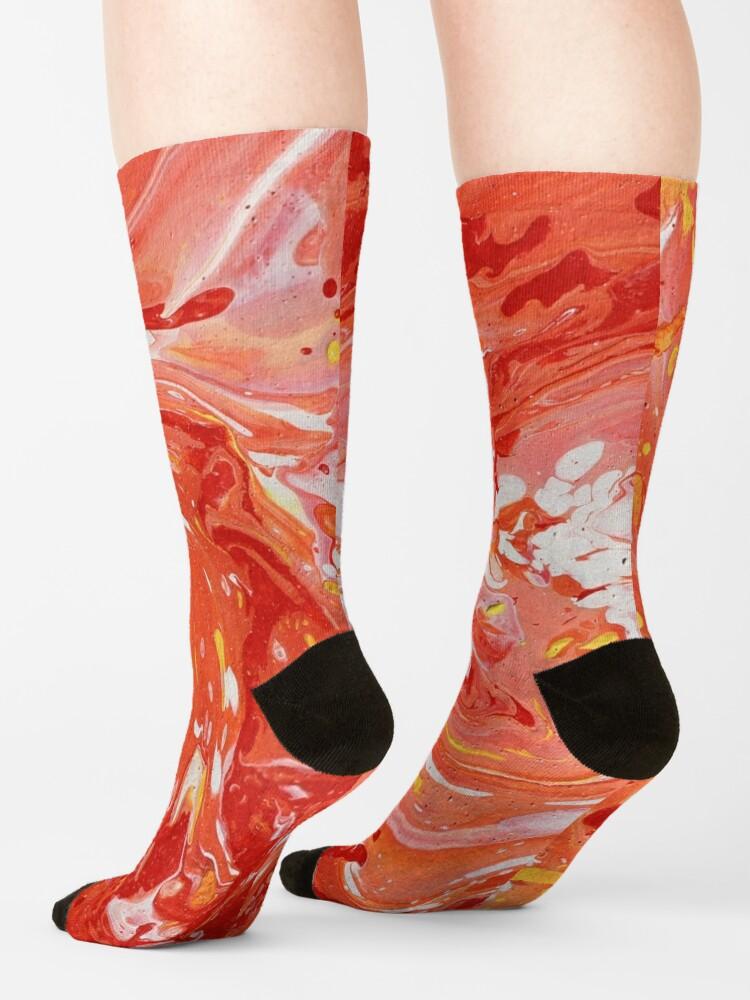 Alternate view of Swirl Socks